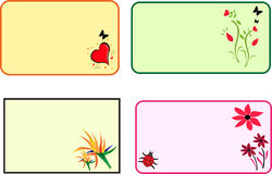 cards gåvan stock illustrationer