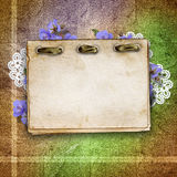 Cards for greeting or invitation Royalty Free Stock Images