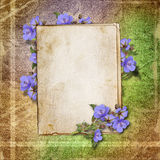 Cards for greeting or invitation Royalty Free Stock Image