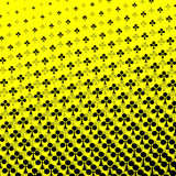 Cards halftone pattern. Royalty Free Stock Photo