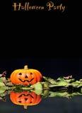 cards halloween Royaltyfri Bild