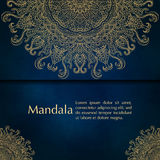 Cards or invitations with mandala pattern Stock Photos