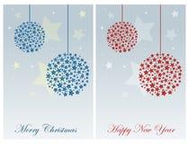 cards jul som tecknar modellera plasticine royaltyfri illustrationer