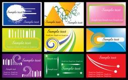 cards mallbesök Arkivbilder