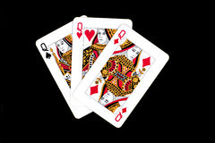 Cards for poker Royalty Free Stock Photography