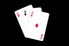 Cards for poker Royalty Free Stock Photo