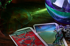Cards tarot Royalty Free Stock Images