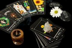 cards tarot Royaltyfri Bild