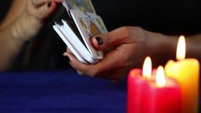 cards tarot stock video