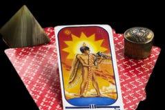 cards tarot arkivfoto