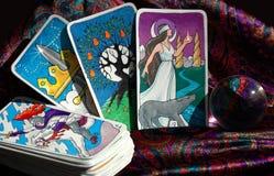 cards tarot Royaltyfria Bilder