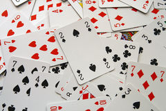 Cards texture royalty free stock photo