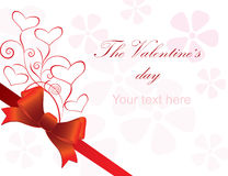 Cards for Valentine's Day Royalty Free Stock Image