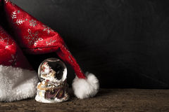 cards varios för julsamlingshälsning Royaltyfri Foto