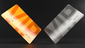 Cards vip discount Royalty Free Stock Image