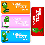 Cards With Snakes Stock Image