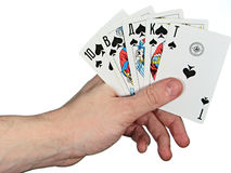 Cards4 Royalty Free Stock Photography