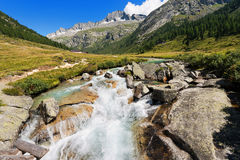 Care Alto - Adamello Trento Italy Stock Images