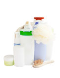 Care and bathroom products Stock Photos