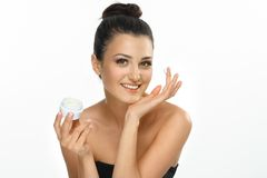 Care about beauty of face Royalty Free Stock Photos