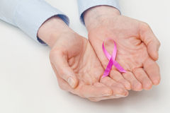 Care for Breast Cancer Awareness Royalty Free Stock Photography