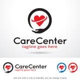 Care Center Logo Template Design Vector Royalty Free Stock Photos