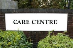 Care centre. care center. care center sign Royalty Free Stock Photos