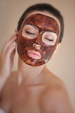 Care for face and body spa Royalty Free Stock Images