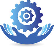 Care factory logo Stock Image