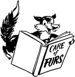 Care Of Furs Royalty Free Stock Photography