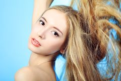 Care hair Stock Photography