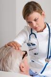 Care at hospital Royalty Free Stock Photo