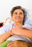 Care Love and Trust for Elders Royalty Free Stock Photo