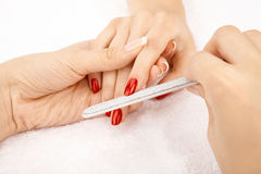 Care of nails Royalty Free Stock Photo