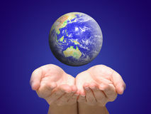 Care of our world Royalty Free Stock Image