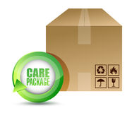 Care package illustration design Stock Photography
