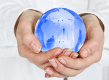 Care about planet Stock Image