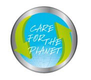 Care for the planet Royalty Free Stock Photography