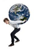 Care about the planet Stock Photography