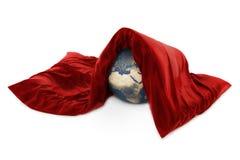 care vårt planet Royaltyfri Foto