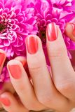 Care for woman hands Royalty Free Stock Photo