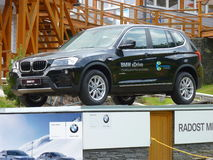 Care xhibition  BMW X3 Czech Royalty Free Stock Photos