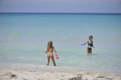 Carebbean海,古巴,巴拉德罗角 库存照片