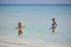 Carebbean-Meer, Kuba, Varadero stockfotos