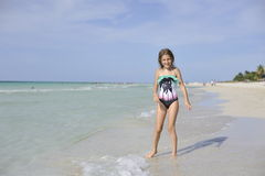 Carebbean sea, Cuba, Varadero Royalty Free Stock Image