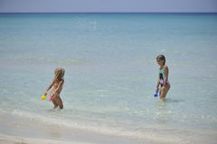 Carebbean sea, Cuba, Varadero Stock Image