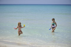 Carebbean sea, Cuba, Varadero Stock Photos