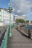 Careenage Bridgetown Barbados del molo Fotografia Stock Libera da Diritti