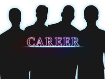 Career. A 'career' typo with effect royalty free stock photo