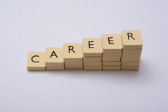 Career abstract Royalty Free Stock Photos